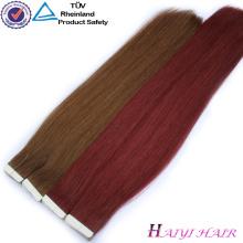 De calidad superior Double Dawn 100 Remy Hair Extention Tape en la extensión del cabello humano