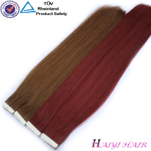 Top Quality Double Dawn 100 Remy Cheveux Ruban Extention Dans L'Extension De Cheveux Humains