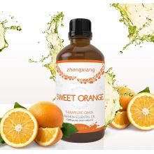 Huile d'orange douce pure et naturelle à 100% pour Utilisé pour la préparation de boissons, de dentifrices, de savons et de médicaments