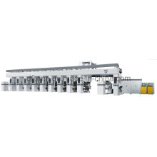 Machine de presse d'impression à rotograves informatisées haute vitesse