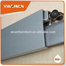 Profesional de diseño de moldes de fábrica directamente en polvo de recubrimiento de aleación de aluminio corredera puertas marcos