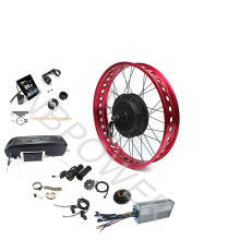 48V 1000W 1500W Front Rear Wheel Fat Bike Conversion Electric Bicycle Kit with optional battery