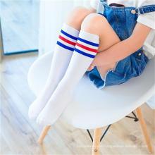 2019 High Quality Hot knee high girls boys children long tube kids socks