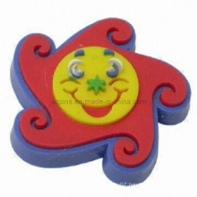 Hot Selling Cartoon Soft PVC Pins with Butterfly Clip (Pin-04)