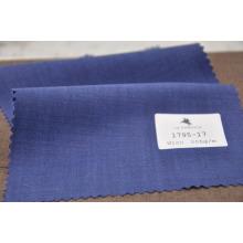 Регулярные посадки королевский синий камвольной шерсти ткани для костюма