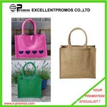 Eco-Friendly Logo Kundenspezifische Werbe-Jute Tasche (EP-B9062)