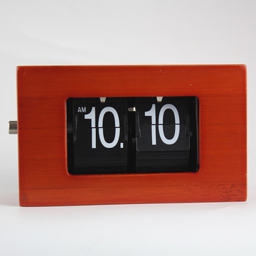 Bambus Mini Flip Clock