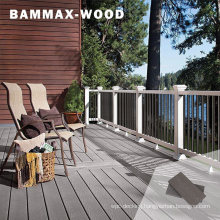 Anti UV Outdoor Long Lasting Decorative Fsc Certified Composite Wood WPC Decking
