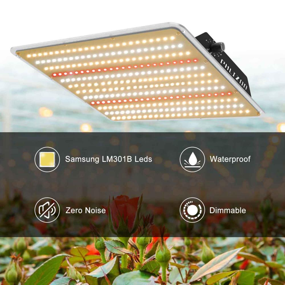 Led Grow Light Coverage