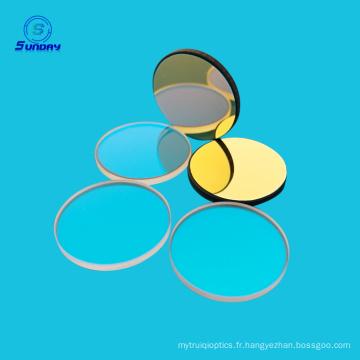 Plaque de séparation de faisceau de composants en verre optique