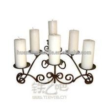 Huaming Großhandel White Pillar Kerzen / dekoriert Kerzen in verschiedenen Farbe / weiße Säule Kirche Kerzen