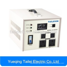 SVC single phase full automatic home voltage stabilizer