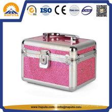 Мини-чемодан для макияжа со съемным лотком (HB-2180)