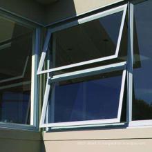 Fenêtre en verre trempé au design élégant avec grilles de sécurité