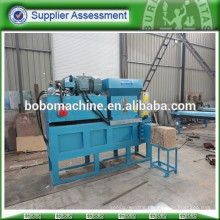Wood shavings compress machine