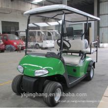 Carrinho de golfe elétrico de 4 assentos usado clube de golfe