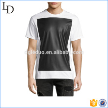 Pullover estilo de moda camiseta de manga corta logotipo personalizado para hombre