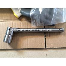 Llave de trinquete de titanio Tc4 Titanium Llave de trinquete de aleación de titanio Gr5