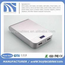 Alta qualidade 11000mAh portátil power pack banco de energia do carregador móvel para iphone Samsung HTC Nokia