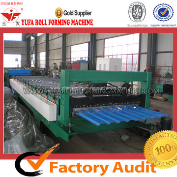 Russia Design Roofing Tile Forming Machine