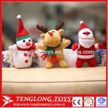 Alta cantidad juguetes de peluche lindo padre juguetes de Navidad Juguetes de Santa Claus Muñeca de alce