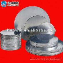Anodisation d'un cercle d'aluminium de qualité