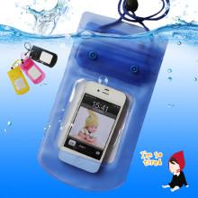 Estuche móvil impermeable para la natación