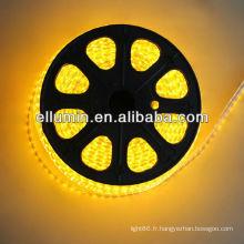étanche conduit 5m 4.8w / m dc12v 3528 bande flexible lumière