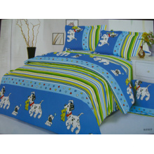 Polyester Printed Micro Fiber Bed Sheet Fabric