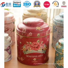 Cmyk Offset Printing Metal Tea Box for Tea Packaging