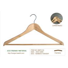 Perchas material reciclable de bambú Eco