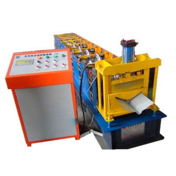 PPGI Metal Sheet Ridge Cap Roll Forming Machine