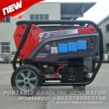 Portable 2 kva gasoline generator price with CE and GS