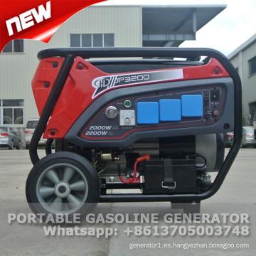 Precio portátil del generador de gasolina de 2 kva con CE y GS