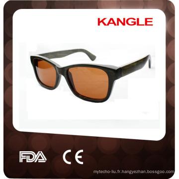 lunettes de soleil en bois faits à la main