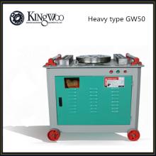 Cintreuse à barre ronde en acier GW50 de type lourd