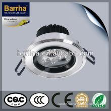 CE-Rohs 3 * 1w led Scheinwerfer Gehäuse gute Wärmeabstrahlung