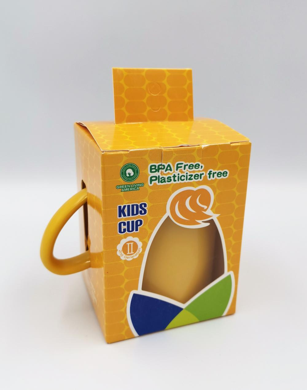 100% Biodegradable Corn-based Durable Kids Cup