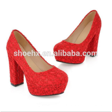 red bride shoes heels