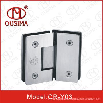 Vidrio caliente de la venta a la bisagra de puerta de cristal de la ducha para la puerta de cristal (CR-Y03)