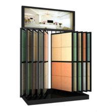 Quartz Tile Leaf Rack Exhibition Display Stand Rack