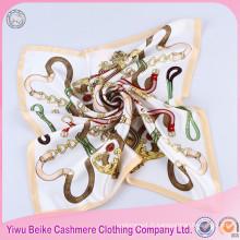 Foulard en soie sergé écharpe grand cou le plus populaire
