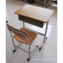 school writing desk and chair ,school furniture for sale