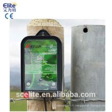 CE électrique RoHS d'unité d'électrificateur de l'électrificateur 0.6J de batterie de barrière de la barrière 10Km