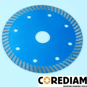 110mm Sinter Hot-pressed Turbo Blade for Tile