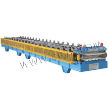 Panel and Corrugated Double Layer Roll Forming Machine