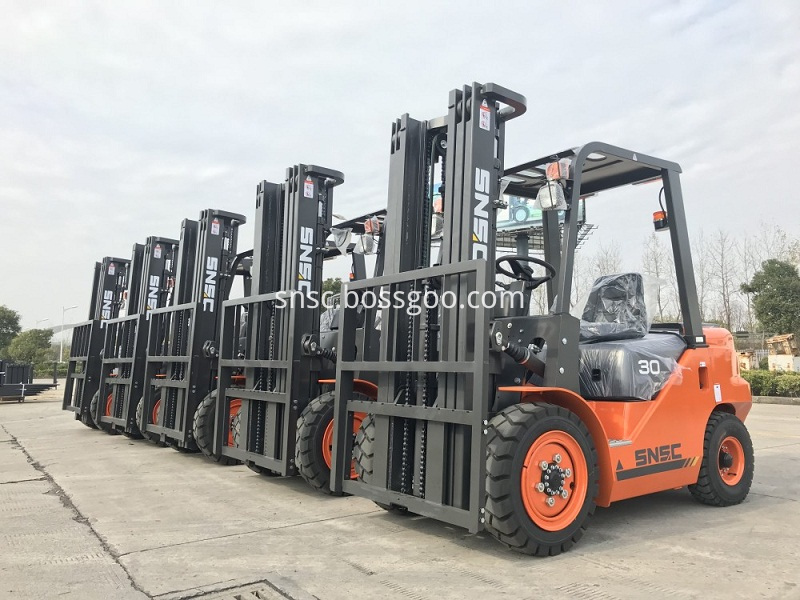 5units 3 ton forklift exported to Egypt from sheri (4)