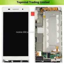 Para Huawei Ascend P6 Pantalla LCD con pantalla táctil con cubierta frontal