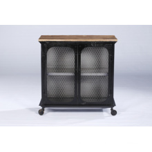 Wood Iron Frame Cabinet - Great Quality Amazing Designs