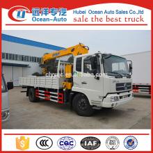 Dongfeng kingrun guindaste telescópico do caminhão do crescimento para a venda